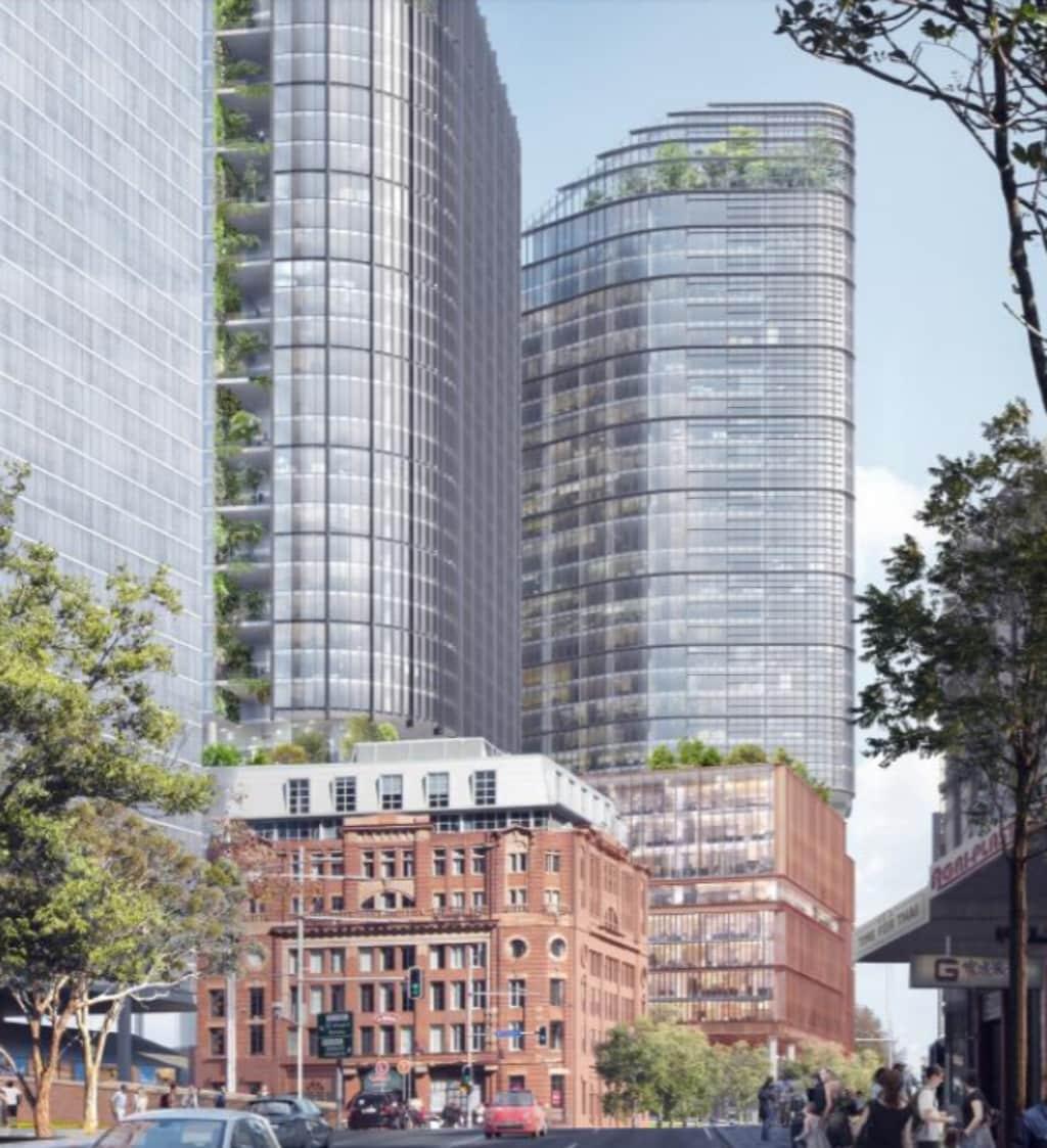 Central Precinct Hub Development Proposed Above Central