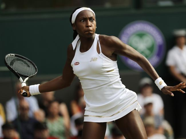 Gauff showed she has the determination to match the skills.