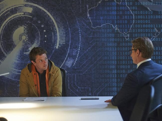 As seen in 'The Code', governments are keen to target cyber criminals, and use their skills for cyber defence purposes. Picture: ABC TV