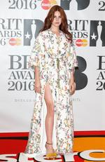 Lana Del Rey attends the BRIT Awards 2016 at The O2 Arena on February 24, 2016 in London, England. Picture: Getty