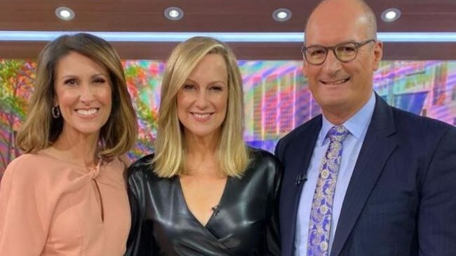 Melissa returned to Sunrise in April for a catch-up. Picture: Instagram