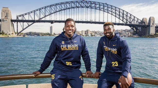 DeVante Wilson and Vic Enwere were officially welcomed to Sydney.