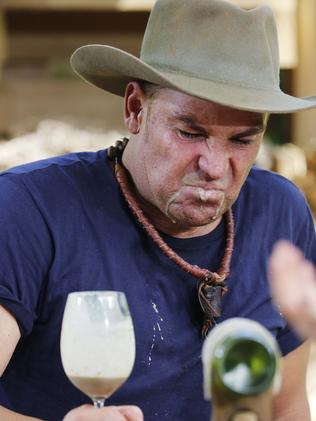 And next... a glass of rat offal. Picture: Nigel Wright/Ten
