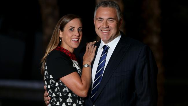 Shadow Treasurer Joe Hockey's wife Melissa holds a number of company directorships. Picture: Ray Strange