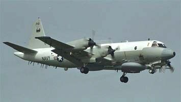 A United States Navy EP-3E Aries II surveilance aeroplane. Picture: US Navy