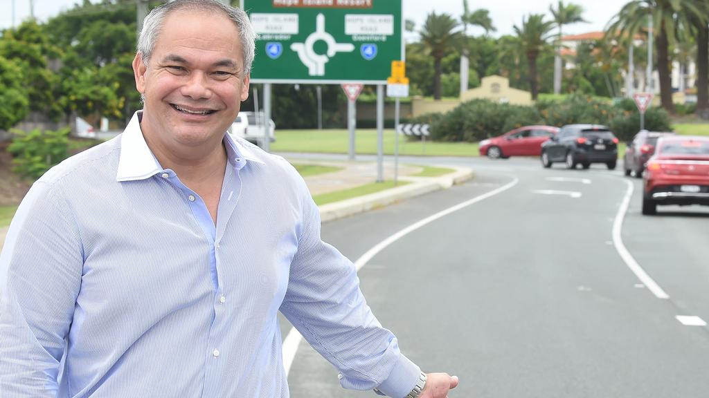 Gold Coast Mayor Tom Tate is delighted. Picture: Lawrence Pinder