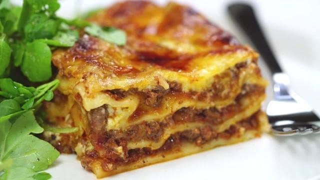 Our favourite lasagne