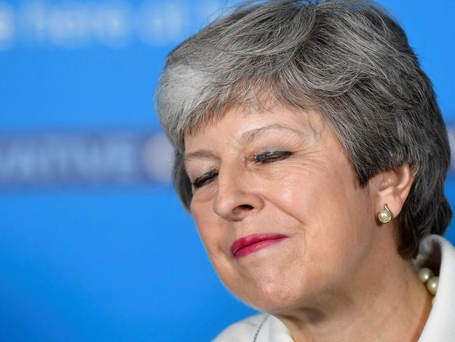 Theresa May is thought to be in her final weeks as prime minister.