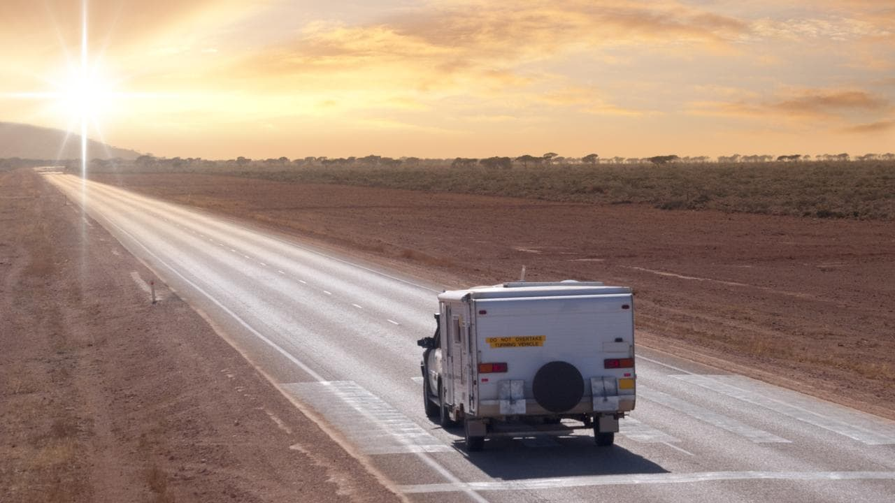 The Nullarbor is a flat, dry plain that frogs couldn't normally cross. The spotted-thighed frogs are catching a lift on cars, caravans, trucks and buses. Picture: istock