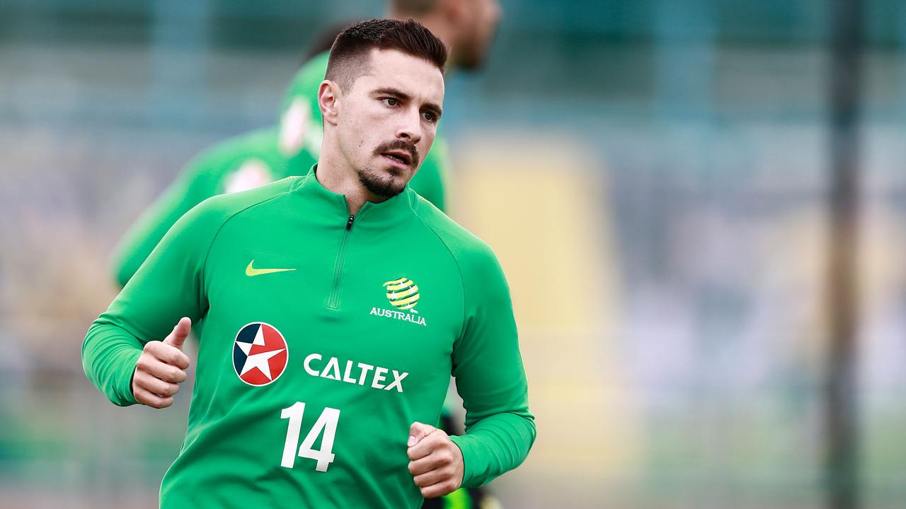 Jamie Maclaren didn't feature for the Socceroos at the 2018 World Cup.