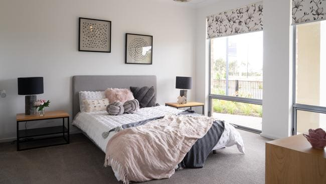 Sterling Homes Messina display home at Angle Vale. Picture: Nick Clayton.