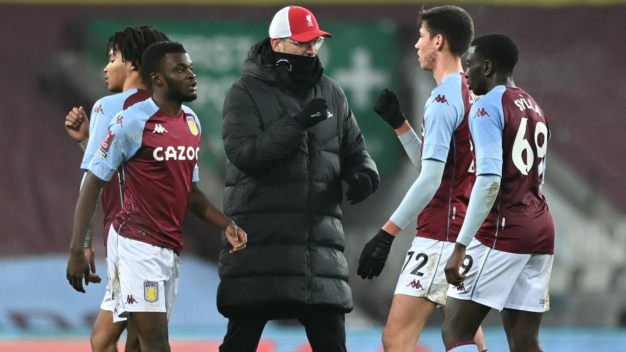 Aston Villa gave Liverpool a scare in the FA Cup despite missing their entire first team. (Photo by Shaun Botterill/Getty Images)