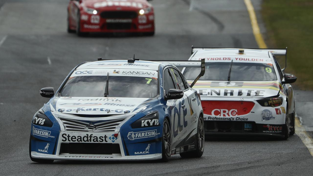 Aaren Russell held off Luke Youlden to win Race for the Grid 1 at the Sandown 500.