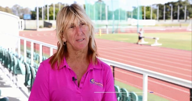 Glynis Nunn talks about her career for the 100 greatest Queensland athletes series