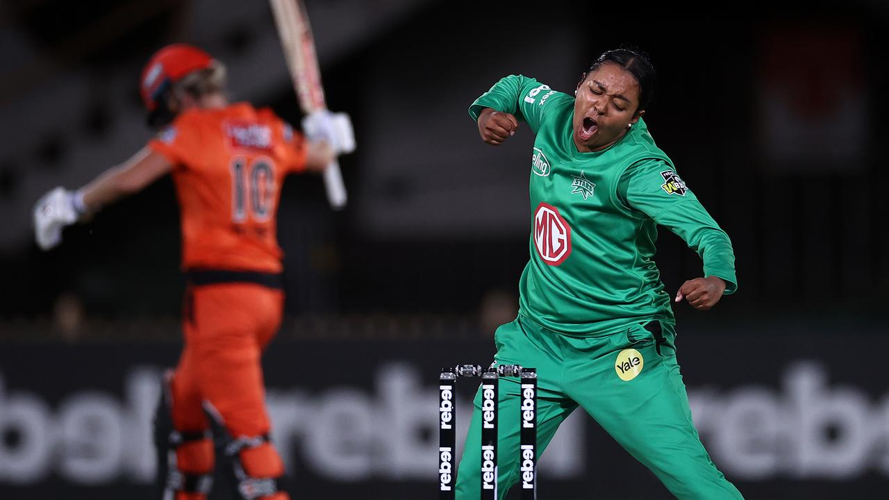 Alana King was named in the WBBL06 team of the tournament. Picture: Ryan Pierse/Getty Images