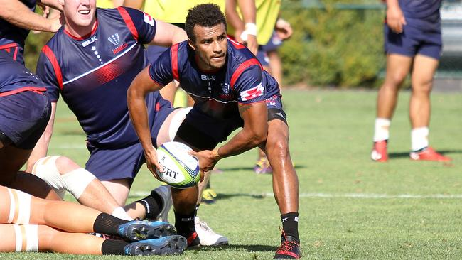 Will Genia will face off against former club Queensland Reds. Picture: Chris Gottaas