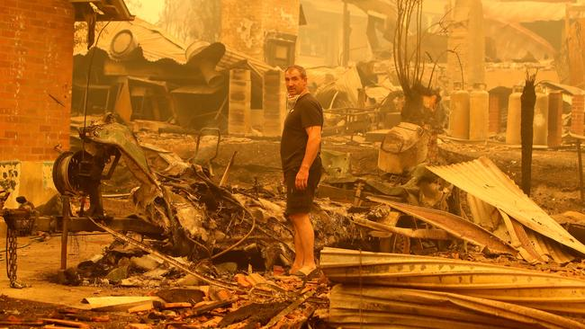Scott Morrison will take a proposal to Cabinet to establish a Royal Commission into the bushfires disaster. Picture: Stuart McEvoy