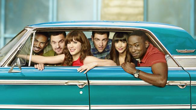 You can binge all seven seasons of New Girl on SBS On Demand