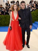 "Rose Byrne and Bobby Cannavale attend the ""Rei Kawakubo/Comme des Garcons: Art Of The In-Between"" Costume Institute Gala at Metropolitan Museum of Art on May 1, 2017 in New York City. Picture: Getty"