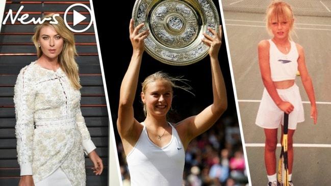 Maria Sharapova: Tennis legend's bombshell announcement