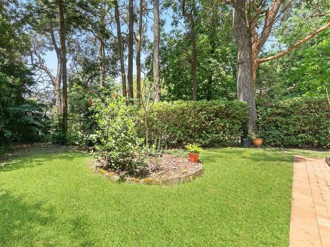Private and family friendly rear yard.