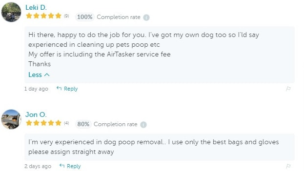 Everyone in this transaction ignored the fact that they were discussing dog turd.
