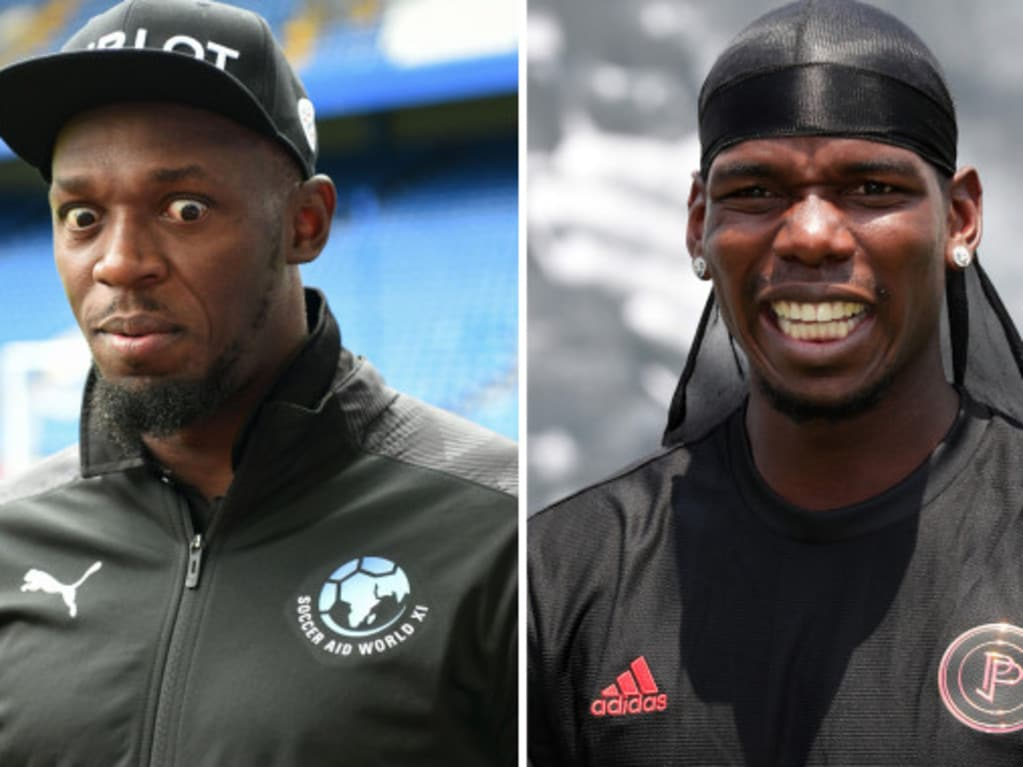 Usain Bolt has urged United to keep hold of Paul Pogba
