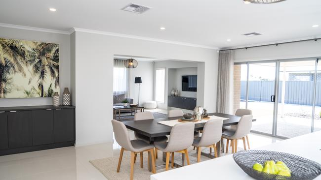 Fairmont Homes' Grand Design, on display at Magnolia Boulevard, Two Wells. Picture: Nick Clayton.