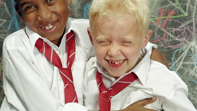 That kid should not be laughing. He hates it, we're sure of it!