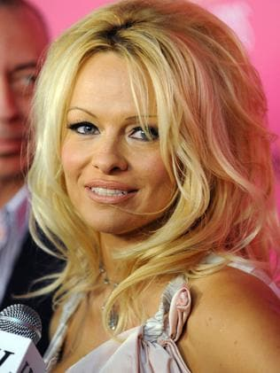 Pamela Anderson at the 6th Annual Hollywood Style Awards in Los Angeles. Picture: Katy Winn/AP