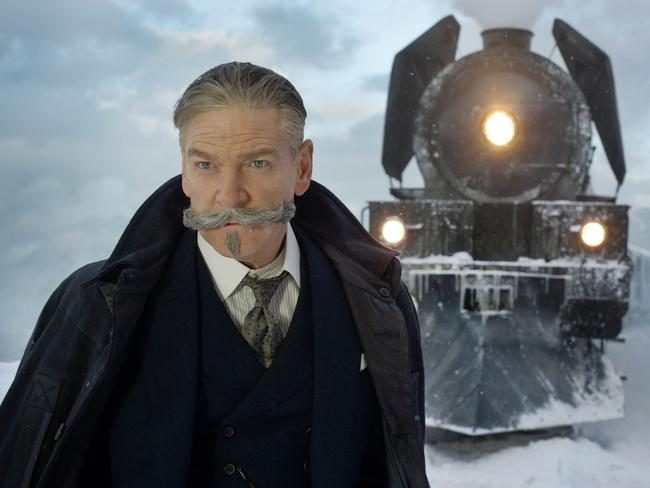 Kenneth Branagh stars as the iconic detective Hercule Poirot.