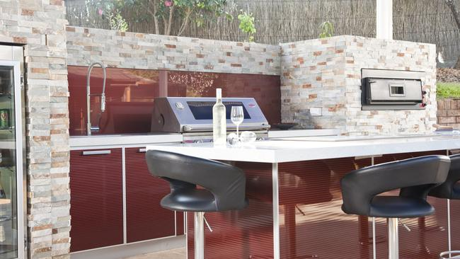 Keeping your barbecue and cooking areas clean is important. Picture: Kastell Kitchens