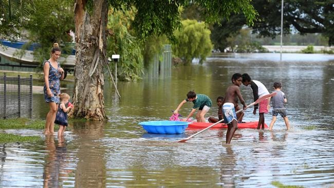 Some schools remain closed in North Queensland. Picture: AAP Image/Dan Peled