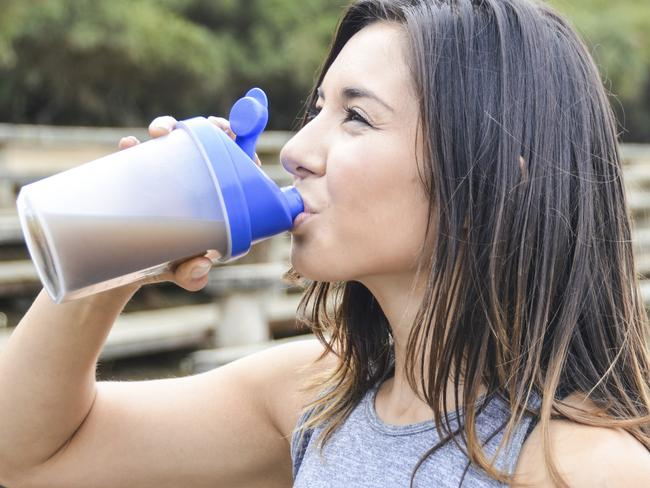 Unless you're in serious training, having a protein shake is probably just giving you calories you don't need.