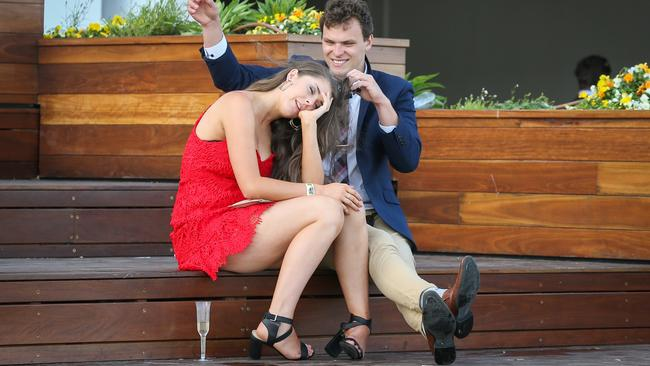 Oaks Day is the third day of the Melbourne Spring Racing Carnival. Picture: Splash News