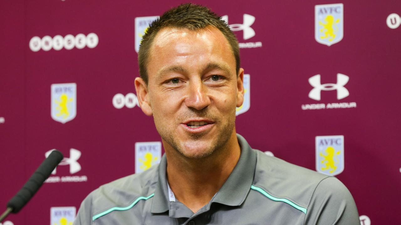 Aston Villa have appointed John Terry as assistant coach.