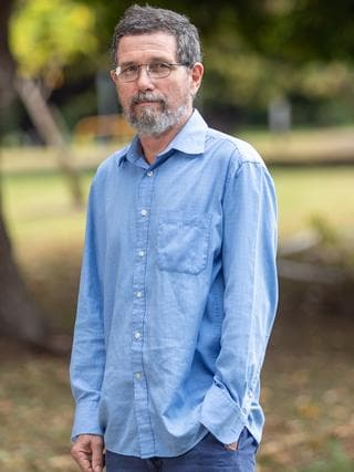 Former James Cook University professor Peter Ridd. Picture: Cameron Laird.