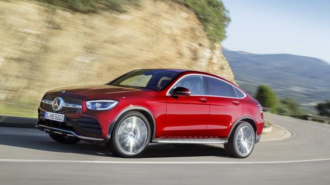 The GLC Coupe: Sleeker styling compared to its sibling.