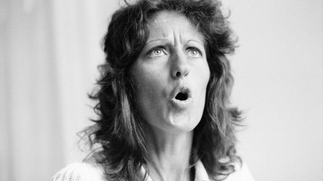 Photo of Germaine Greer taken back when she actually spoke for women. (Photo by Chris Paterson/Daily Mirror/Mirrorpix/Getty Images)