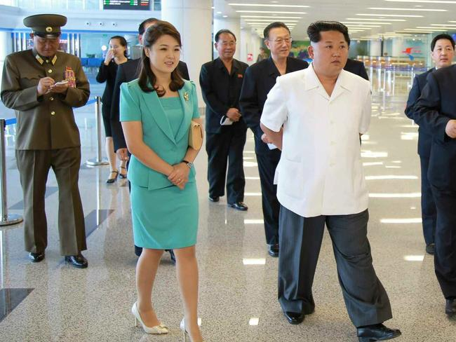 For explanation, kim jong un wife well understand