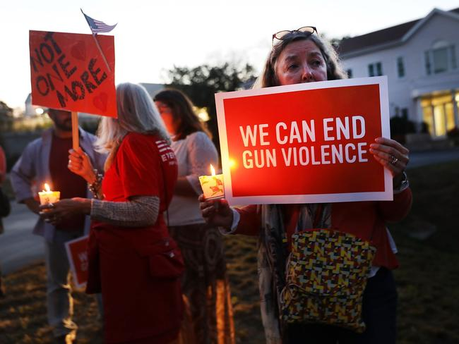 People protesting gun laws after Sandy Hook. Picture: Spencer Platt/Getty Images/AFP