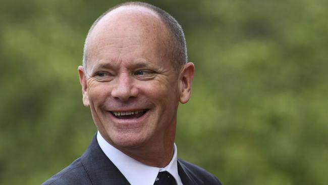 Former Queensland premier Campbell Newman will be honoured for his service to the people and parliament of Queensland. Picture: Lukas Coch/AAP