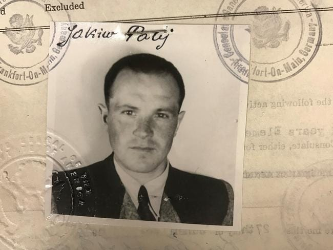 The former Nazi guard lied about his past to get into the US. Picture: US Department of Justice/AP