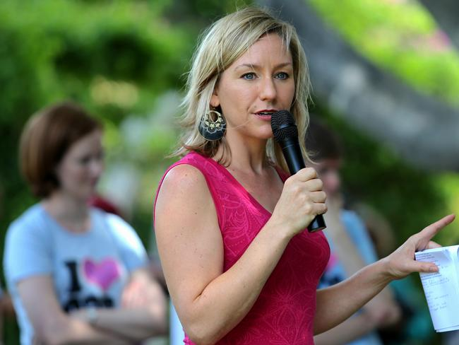 Greens Senator Larissa Waters warns that such strong gender stereotypes at early ages can have long-term impacts, including influencing self-perception and career aspirations. Picture: Jack Tran/The Courier Mail