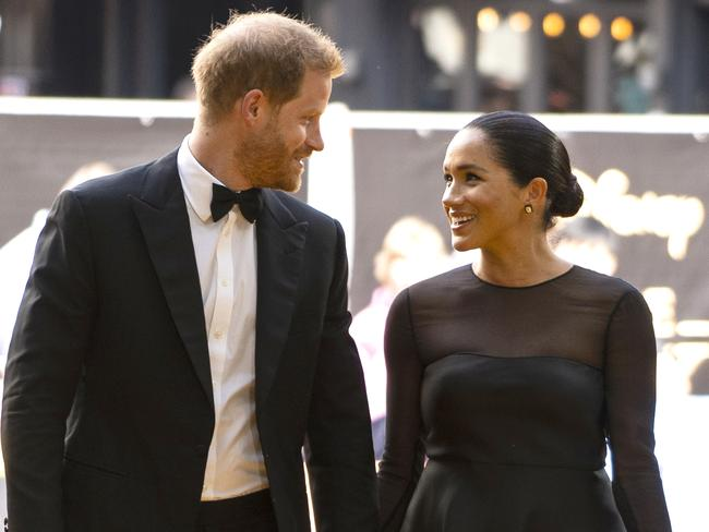 Harry and Meghan have been attracting scrutiny over their private jet travel. Picture: Getty Images