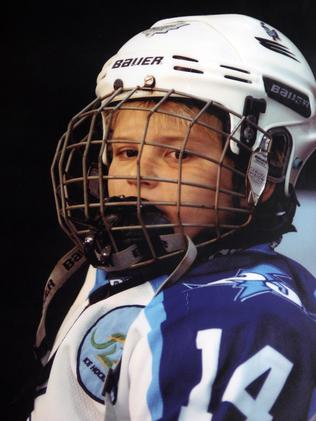 Nathan Walker as a youngster. Credit: Duane Hart/SportingImages
