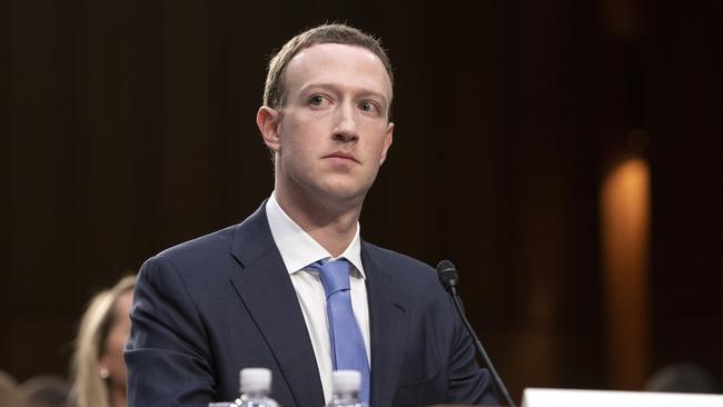 Facebook CEO and founder Mark Zuckerberg. Picture: Ron Sachs - CNP / MEGA