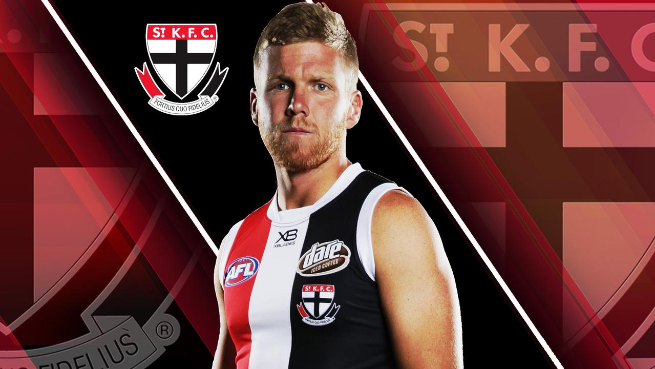 Done deal: Dan Hannebery joins St Kilda from Sydney.