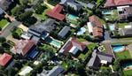 SYDNEY, AUSTRALIA - NewsWire Photos MARCH 24, 2021: An Aerial view of the Housing Market in the Western Sydney region from the Domestic Airport at Mascot to Marsden Park, in Sydney Australia. Picture: NCA NewsWire / Gaye Gerard