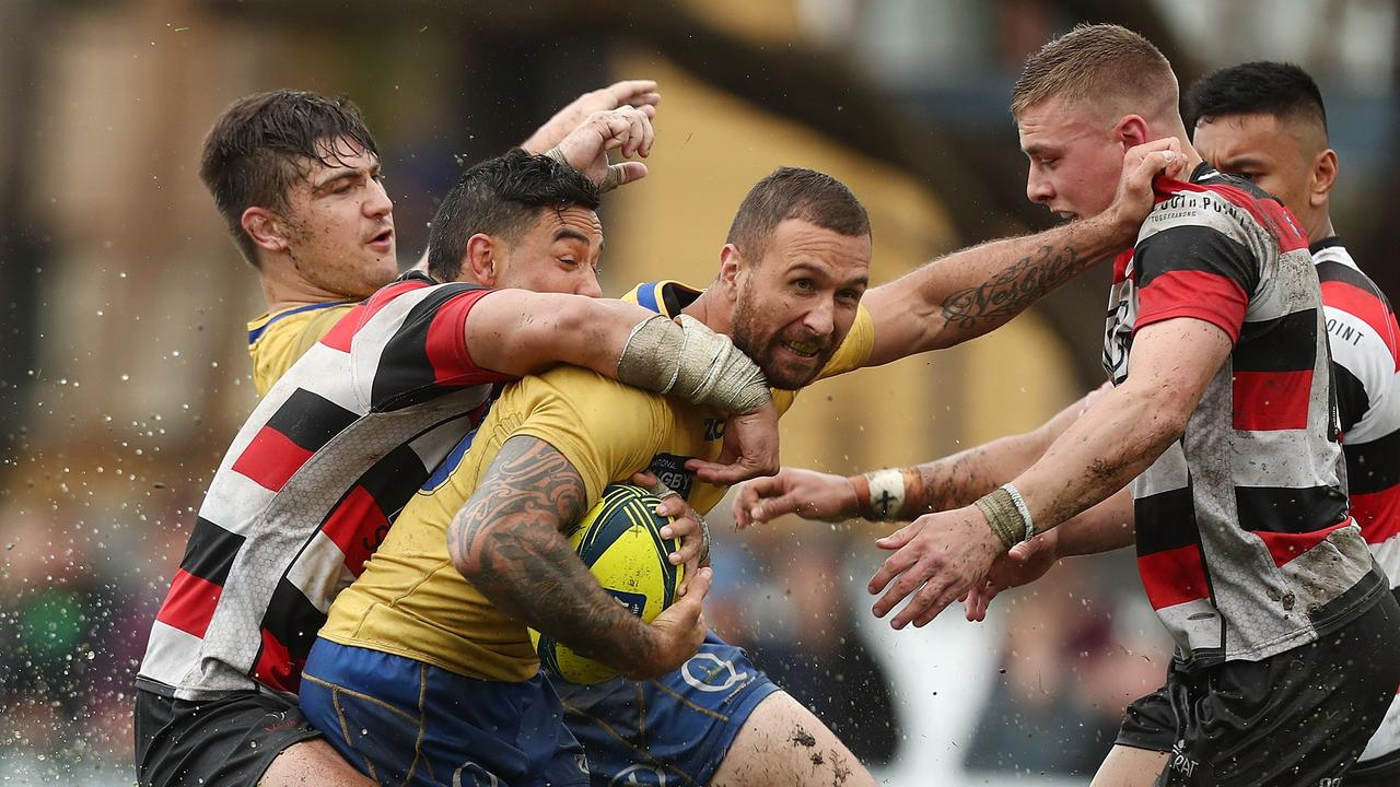 Quade Cooper has been playing club rugby with Reds coach Brad Thorn refusing to play him.